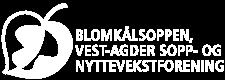 Nettsidelogoen til Blomkalsoppen, Vest-Agder sopp- og nyttevekstforening